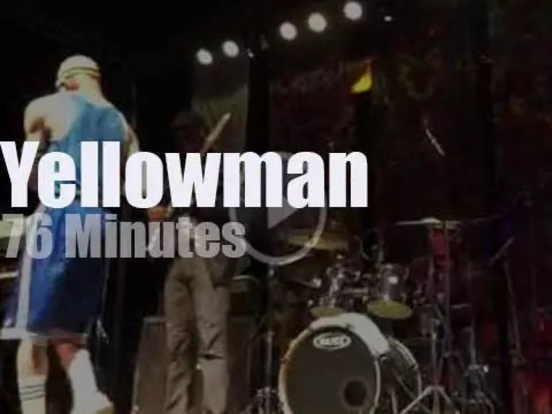 Yellowman comes to California (2014)