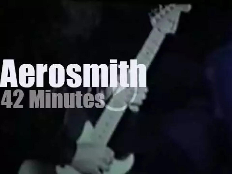 Aerosmith spend two nights in Sydney (1990)