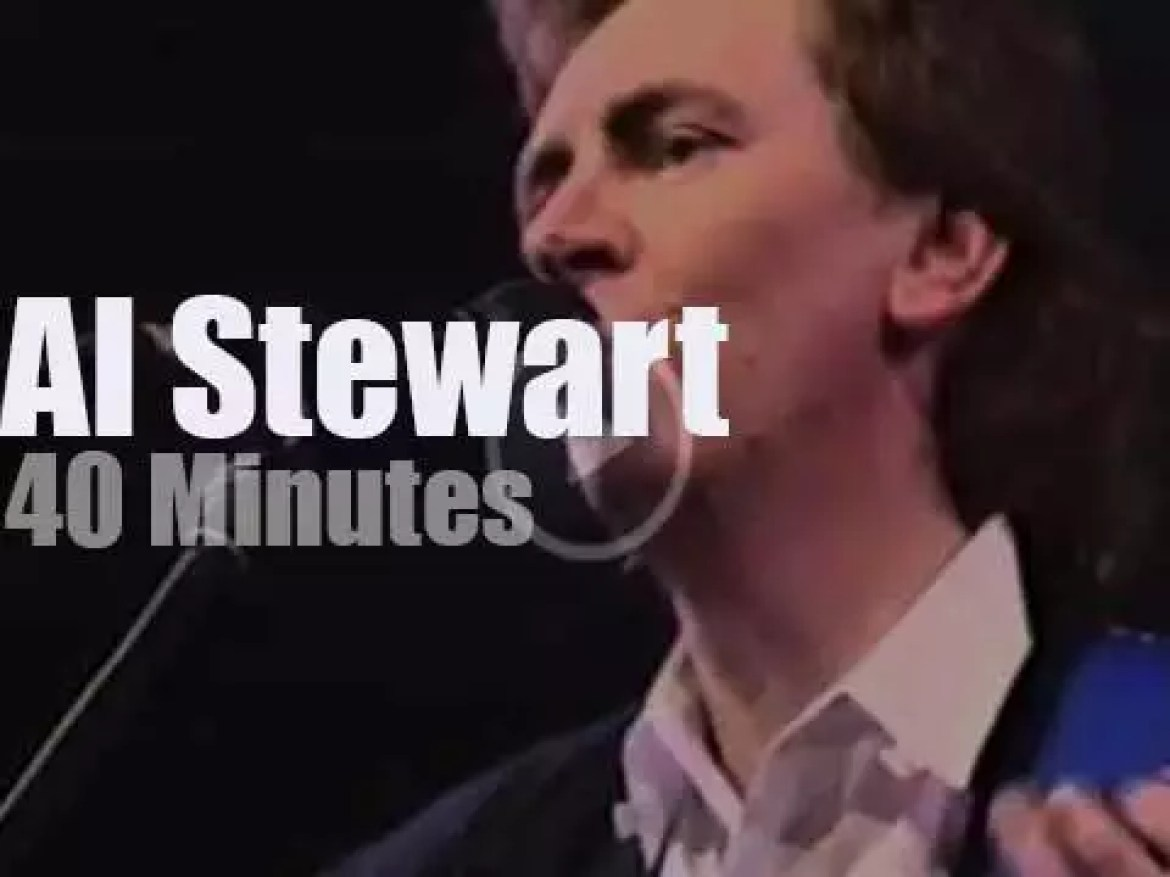 Al Stewart fronts a Belgian orchestra (1988)