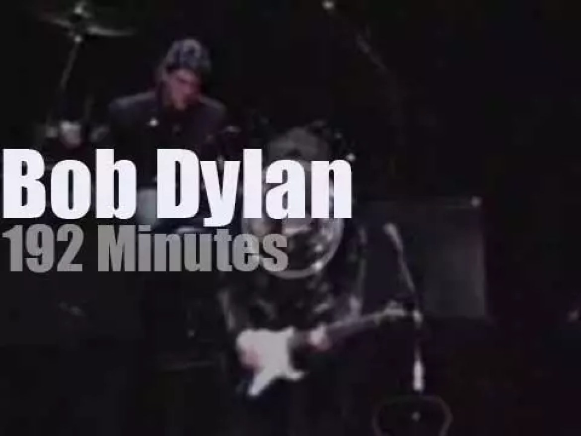Bob Dylan is back for four nights in New-York (1989)
