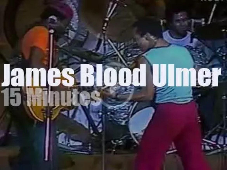James Blood Ulmer attends 'Warsaw Jazz Jamboree'  (1983)