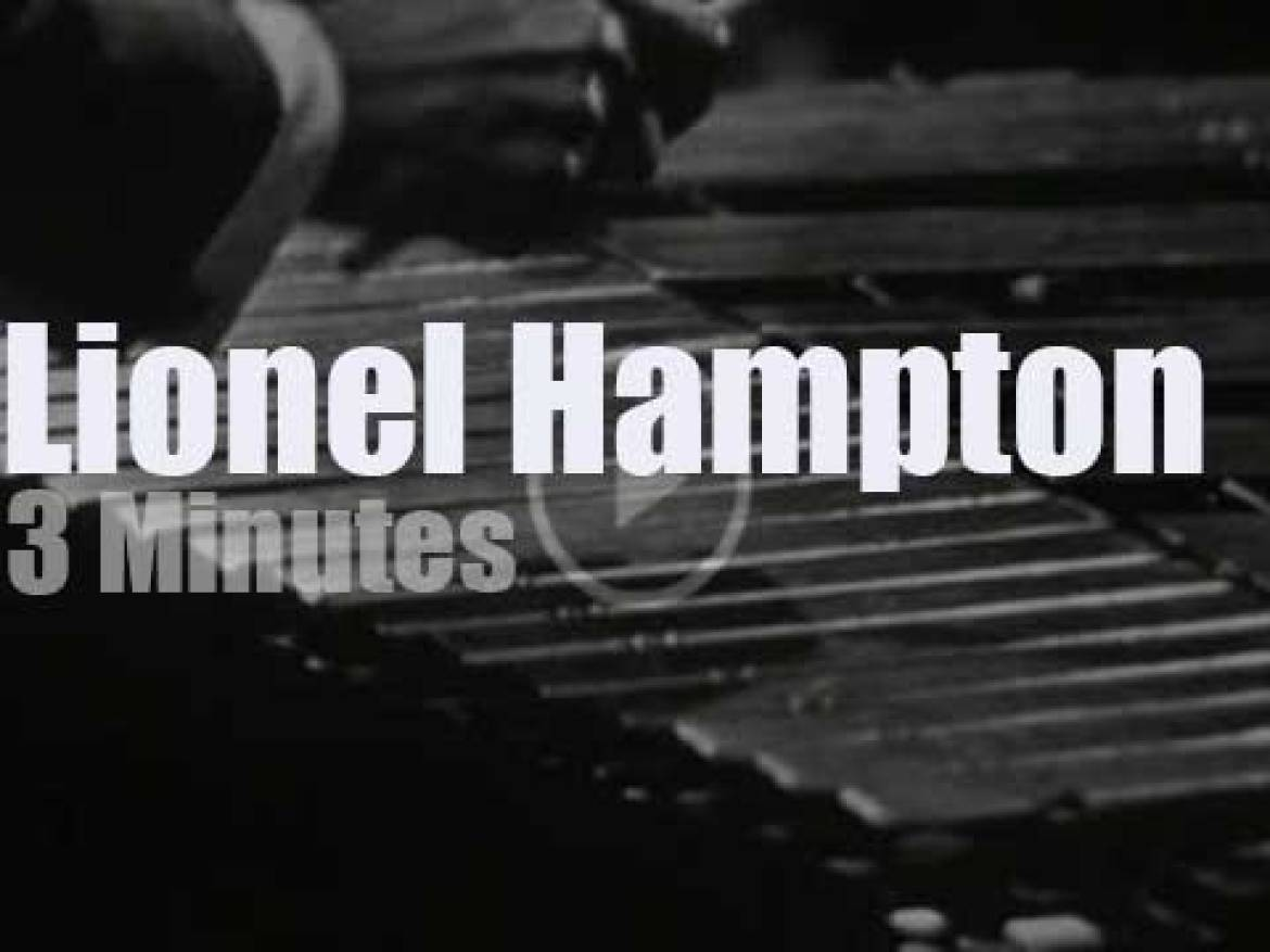 On TV today, Lionel Hampton at 'The Big Record' (1967)