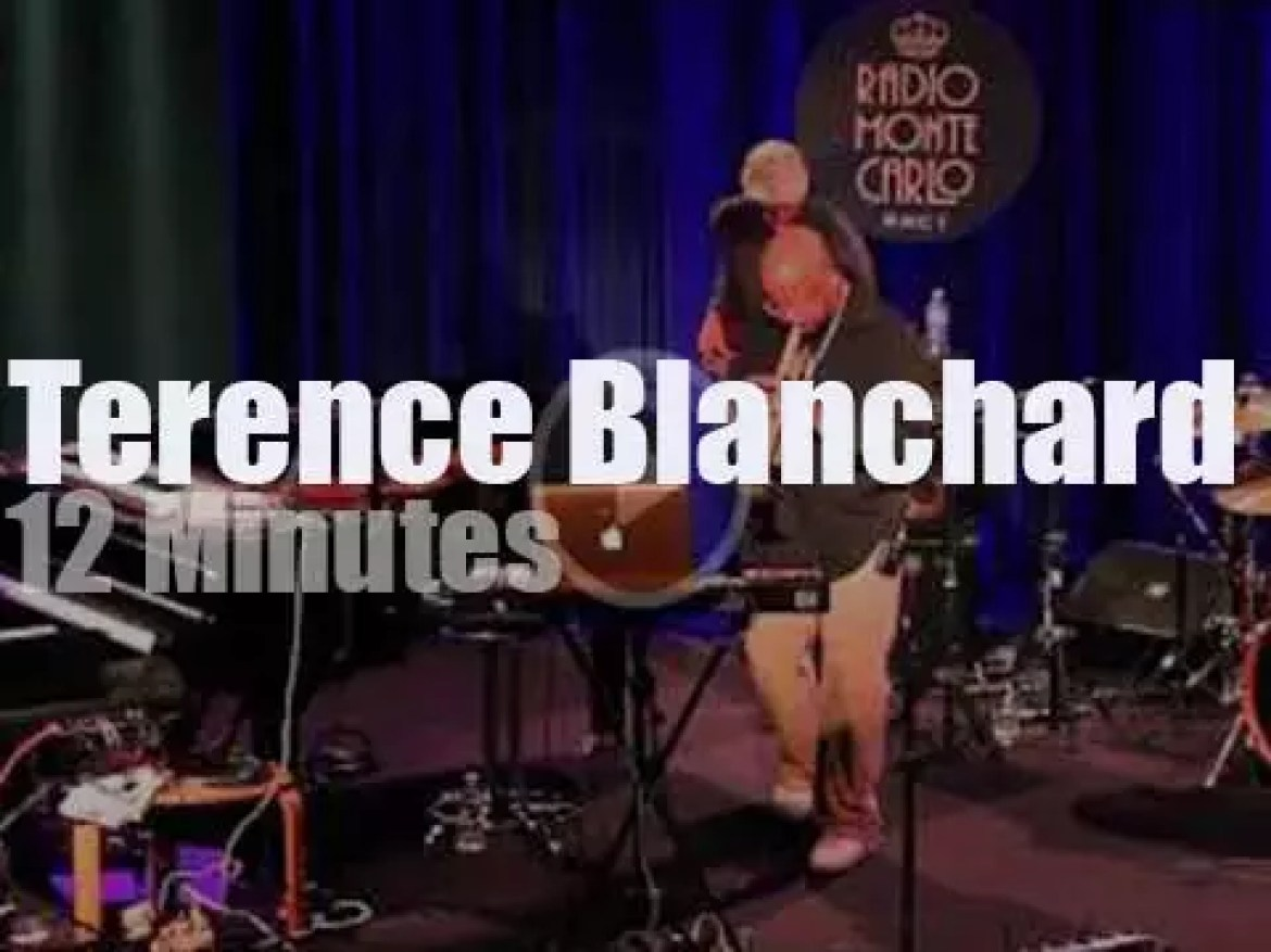 Terence Blanchard takes his E- Collective to Blue Note Milano (2014)
