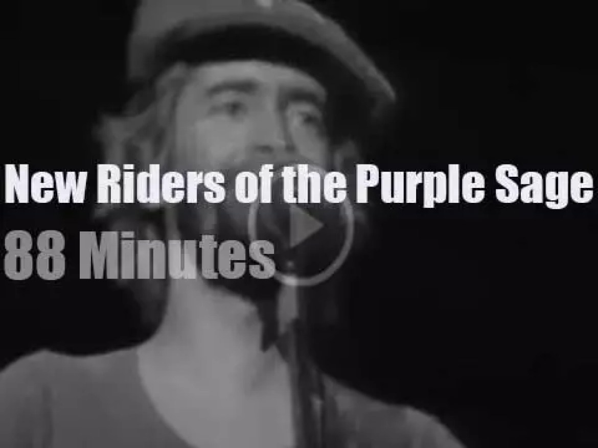The New Riders of the Purple Sage travel to New-Jersey (1975)
