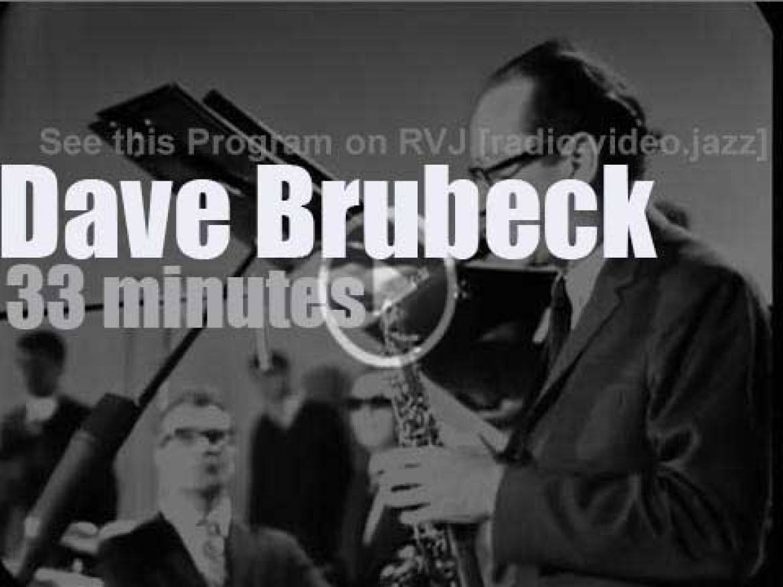 On German TV today, Dave Brubeck at 'Jazz Gehört und Gesehen' (1966)