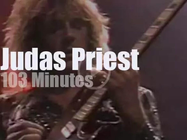 Judas Priest  rock Detroit (1990)