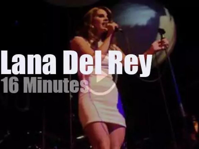 Lana Del Rey comes to Paris (2011)