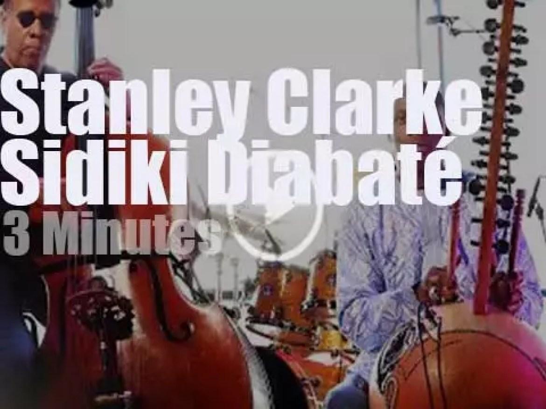 On Dutch TV, Stanley Clarke meets Sidiki Diabaté (2014)