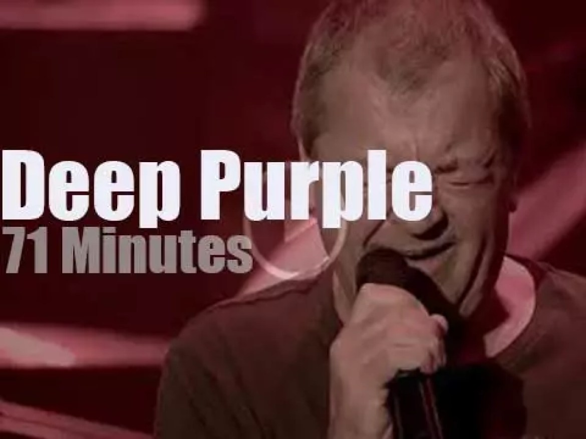 On English TV, Deep Purple at BBC 'In Concert'  (2017)