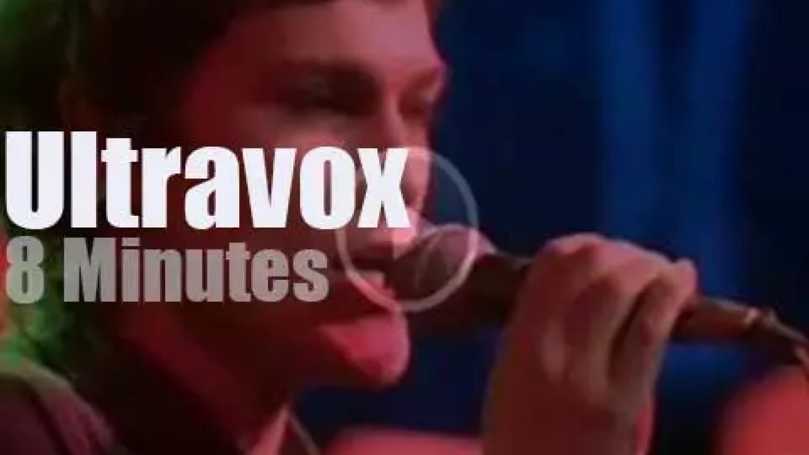 On English TV today, Ultravox at OGWT  (1978)