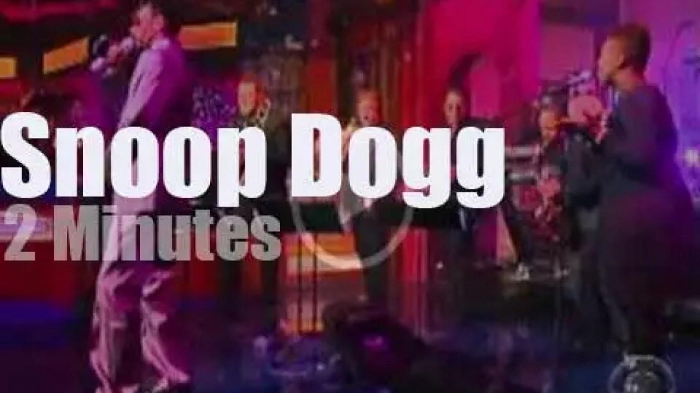 On TV today, Snoop Dogg covers Quincy Jones (2010)