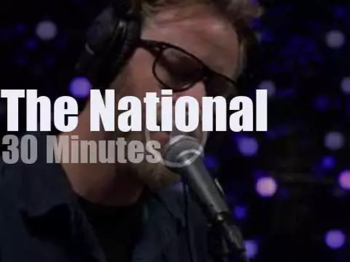On radio today, The National at KEXP (2017)