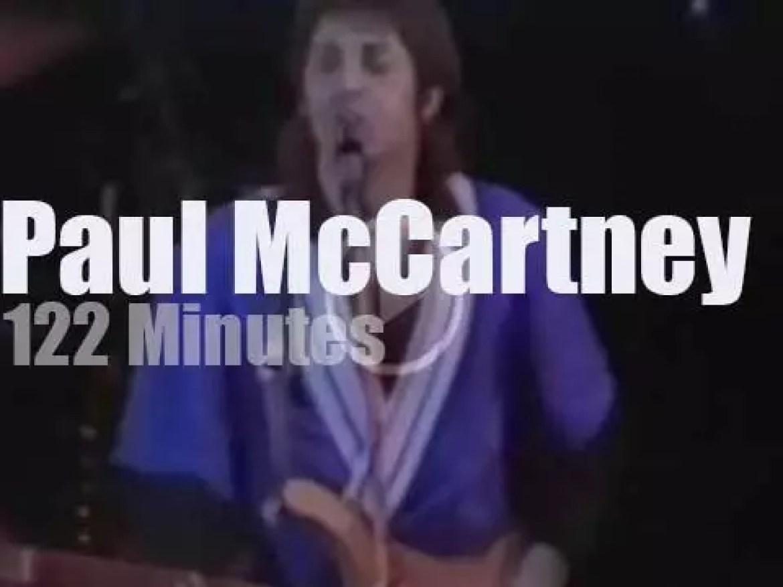 Paul McCartney visits Melbourne (1975)