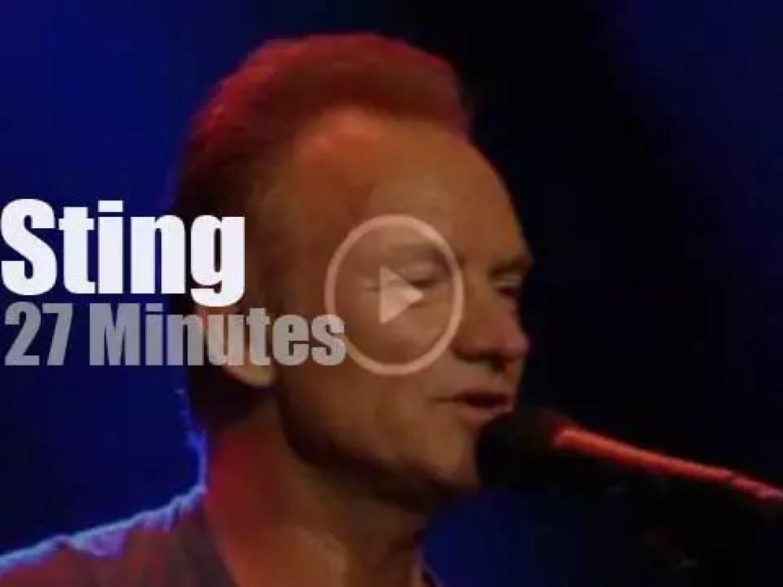 Sting re-opens Le Bataclan (2016)