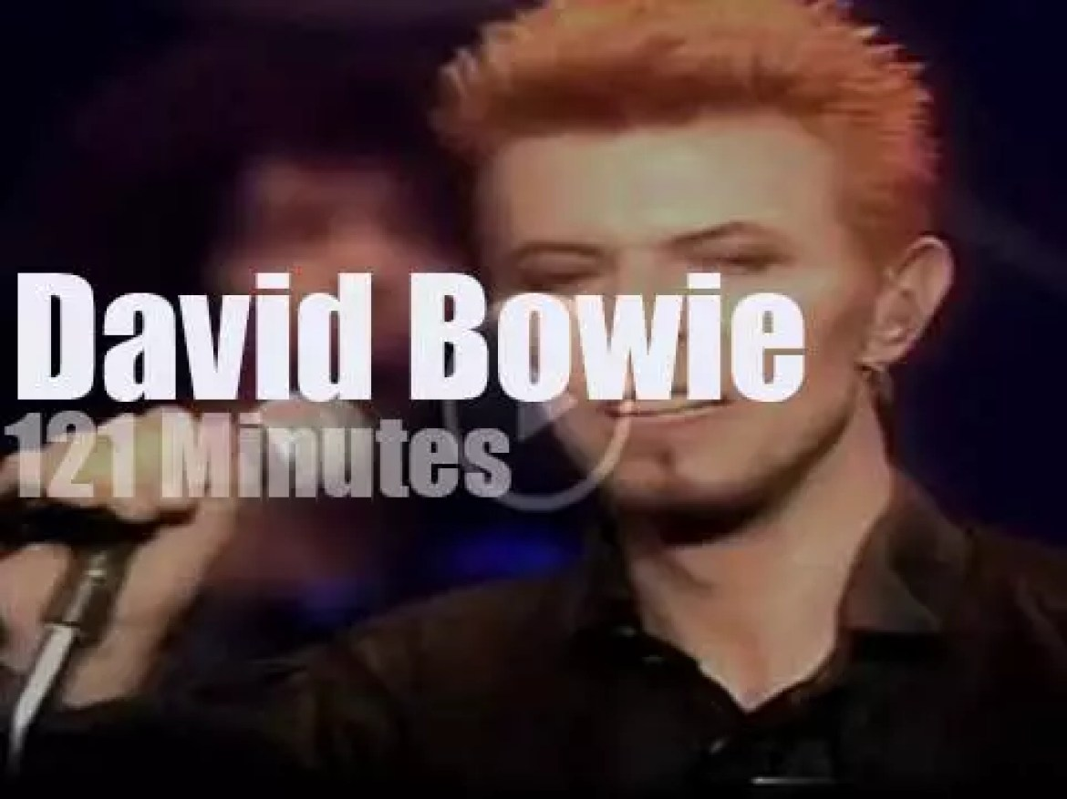 Robert, Lou, Foo et al sit in with David Bowie for his 50th Birthday (1997)