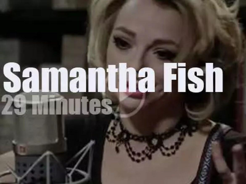 Samantha Fish performs for Paste Magazine (2017)