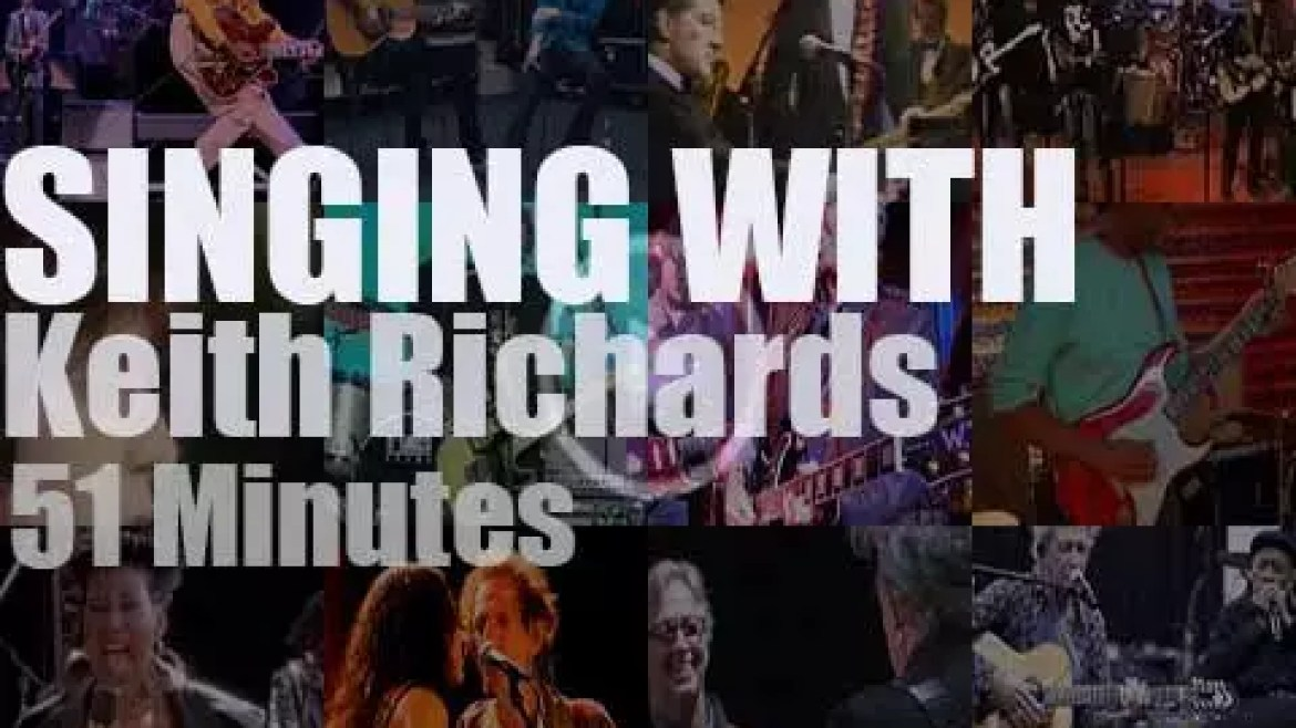 Singing (and Playing) With Keith Richards