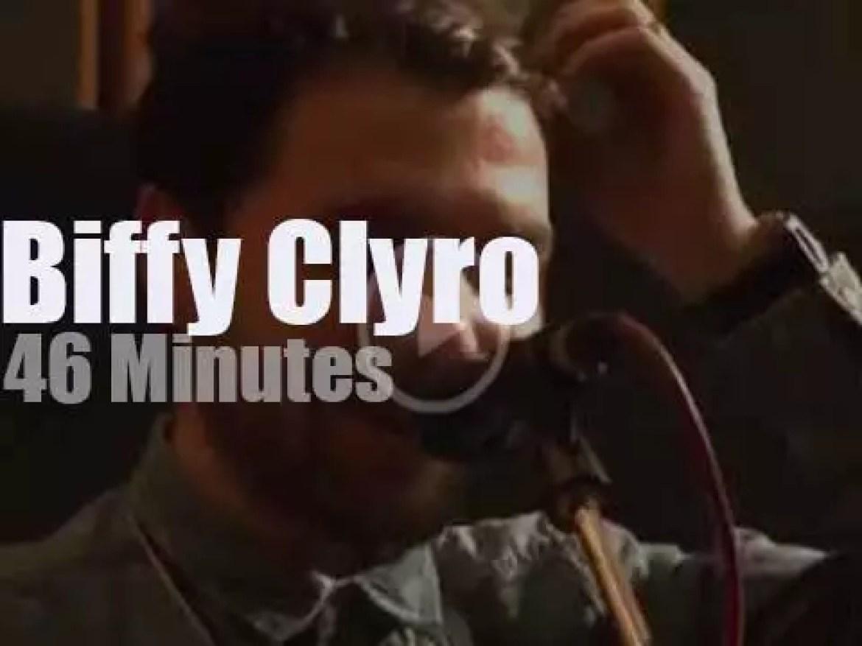 Biffy Clyro go acoustic at Abbey Road Studios (2013)