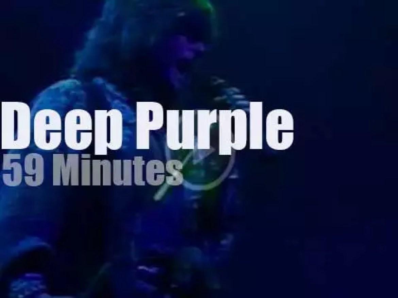 Deep Purple visit Budapest (1991)