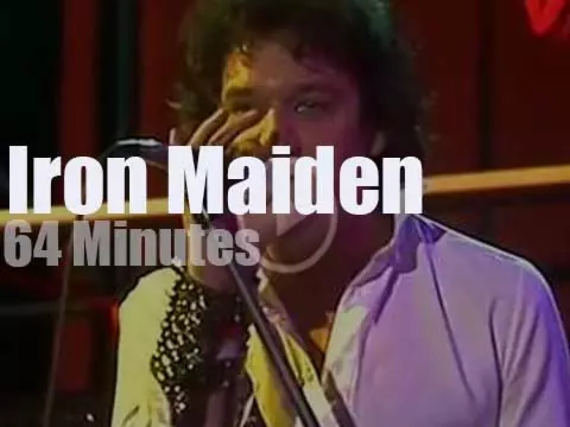 German television tapes Iron Maiden (1981)