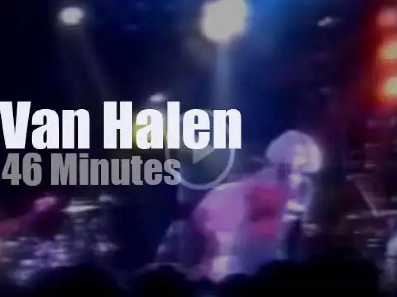 MTV tapes Van Halen's showcase in Milan (1995)