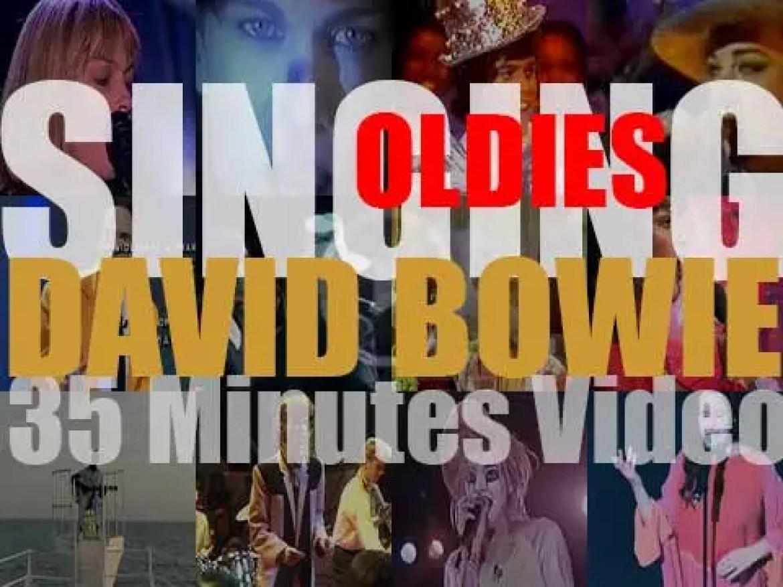 Singing David Bowie OLDIES