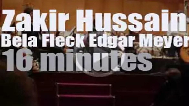 Zakir Hussain, Bela Fleck & Edgar Meyer meet in India (2013)