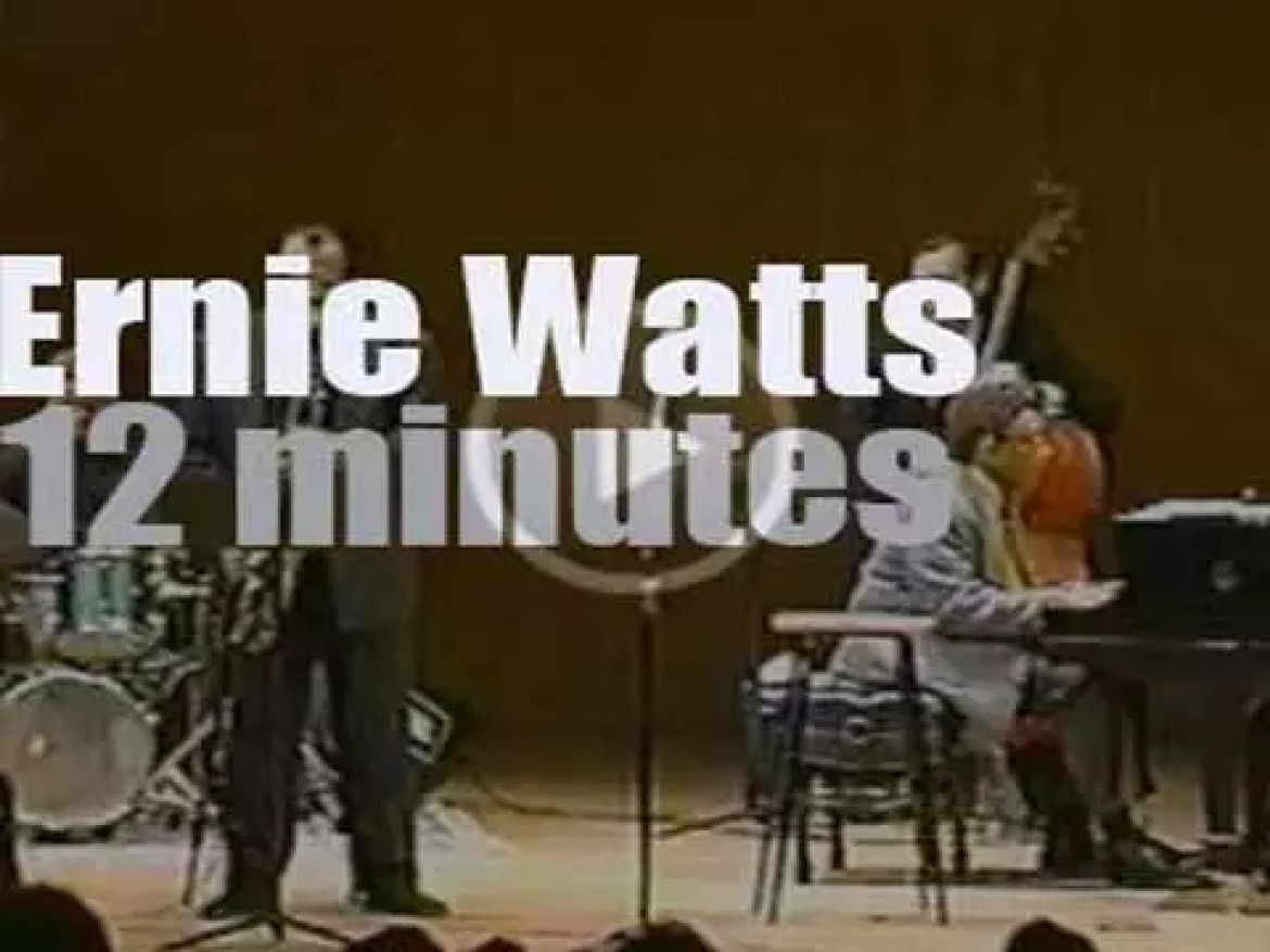 Ernie Watts sits in with Billy Taylor (2000)