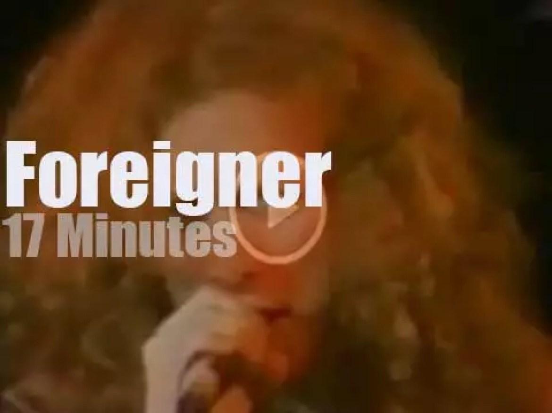 Foreigner attend California Jam II (1978)