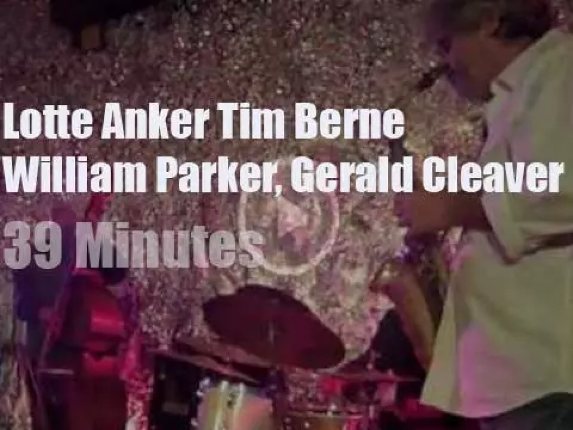 Lotte Anker, Tim Berne, William Parker & Gerald Cleaver jam (2013)