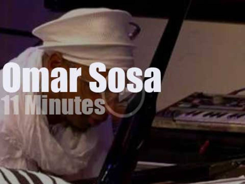Omar Sosa  enchants his Italian fans (2014)
