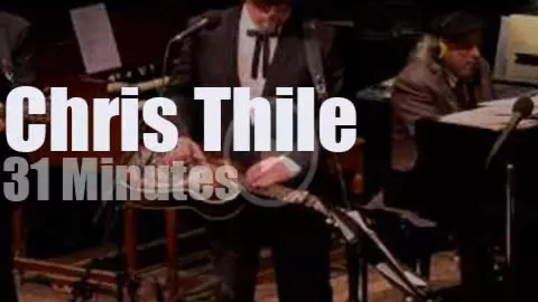 On radio today, Chris Thile headlines (2015)
