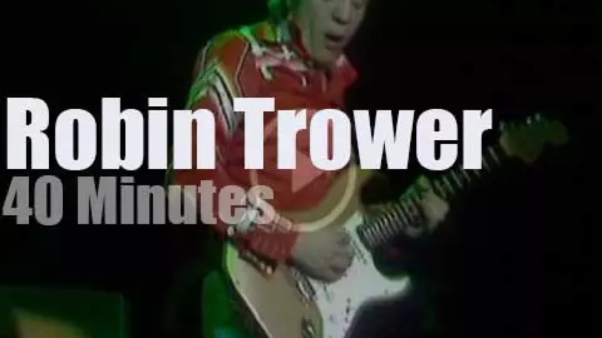 Robin Trower brings his trio to London (1980)