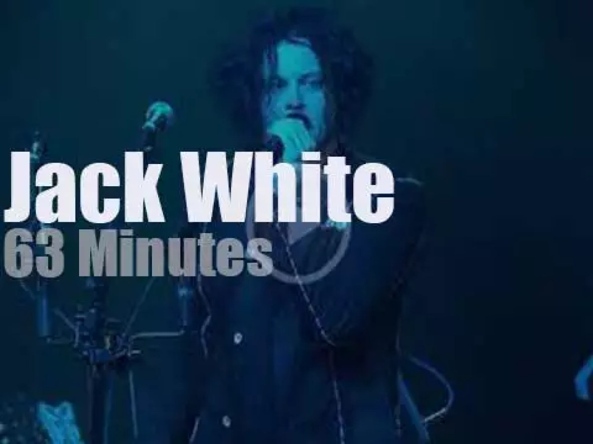 Jack White  launches an album in Brooklyn (2018)