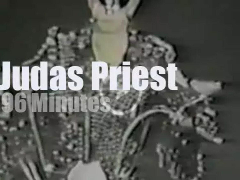 Judas Priest enchant Osaka (1991)