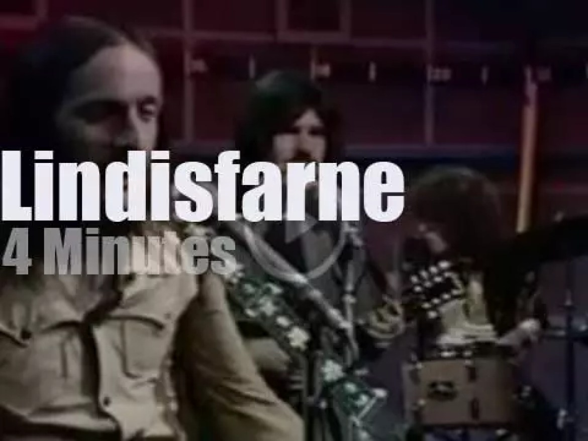 On English TV today, Lindisfarne at 'Old Grey Whistle Test' (1974)
