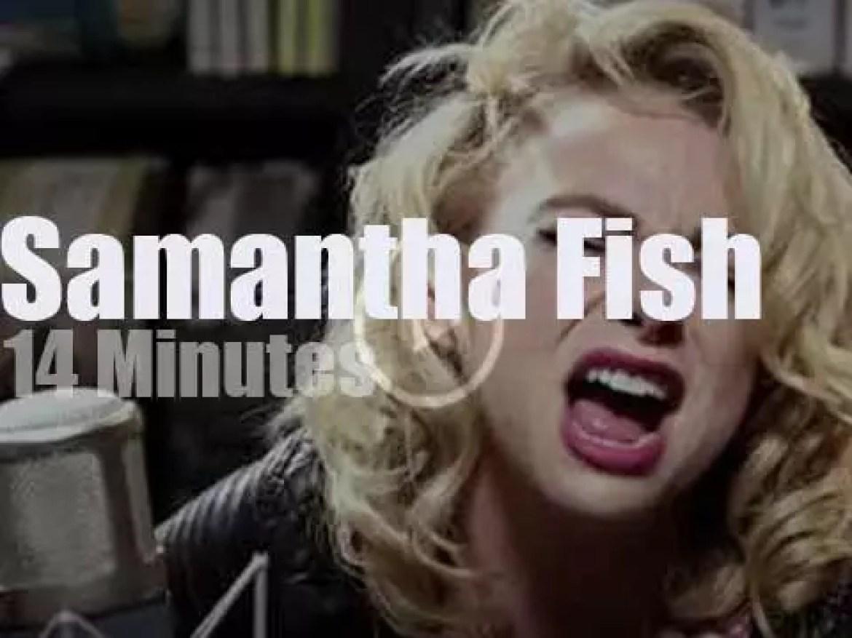Samantha Fish plays a short set at Paste Studios (2017)