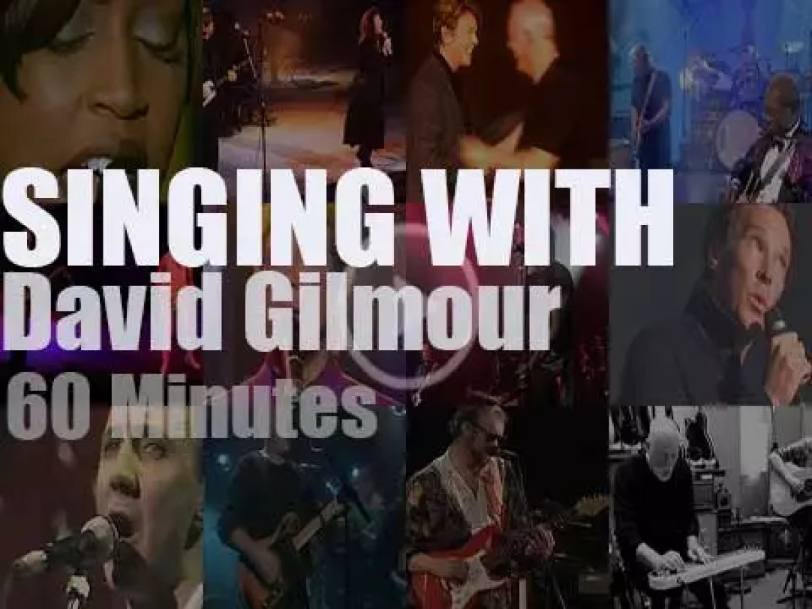 Singing With David Gilmour