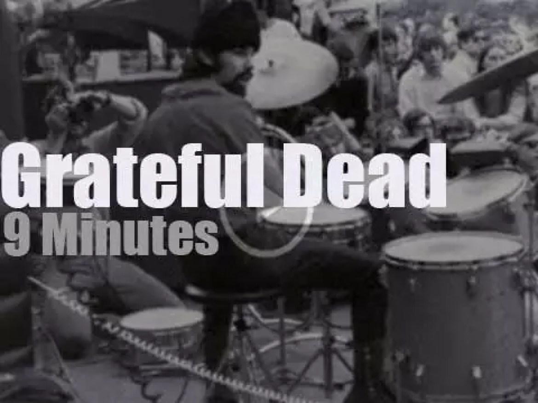 Grateful Dead go to New-York University, (1968)