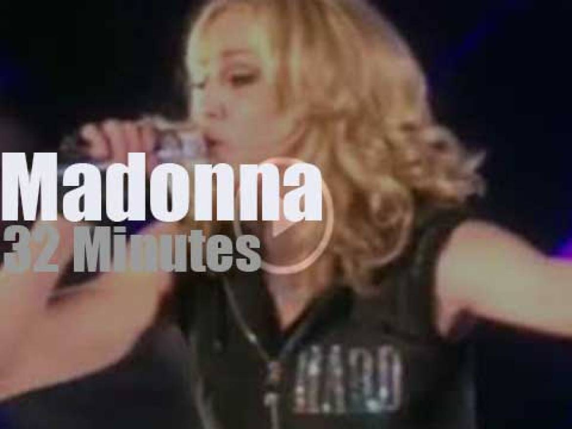 Madonna presents 'Hard Candy' in New-York (2008)