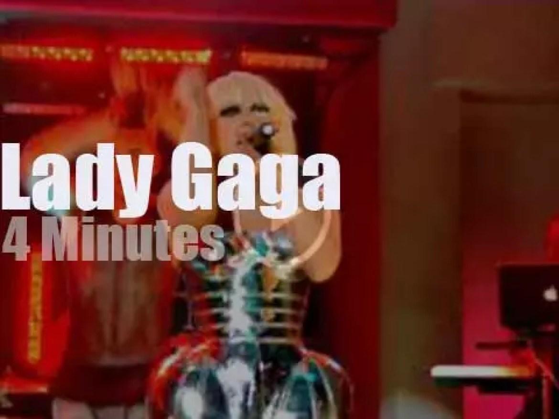 On English TV today, Lady Gaga with Jonathan Ross (2009)