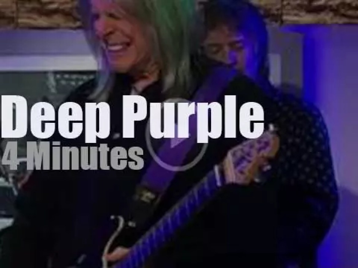 On German TV today, Deep Purple at 'Morgenmagazin' (2013)