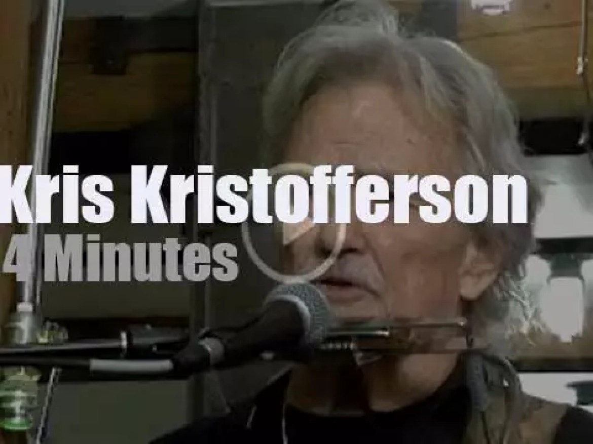 On Web TV, Kris Kristofferson  at 'One On One Session' (2017)