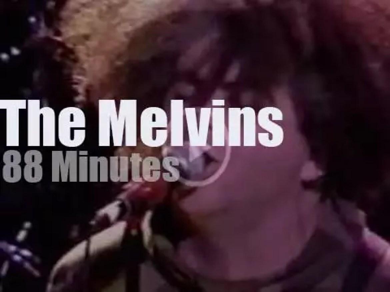 The Melvins sludgecore Austin (2001)