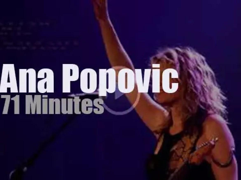 Ana Popovic rocks Indiana (2018)