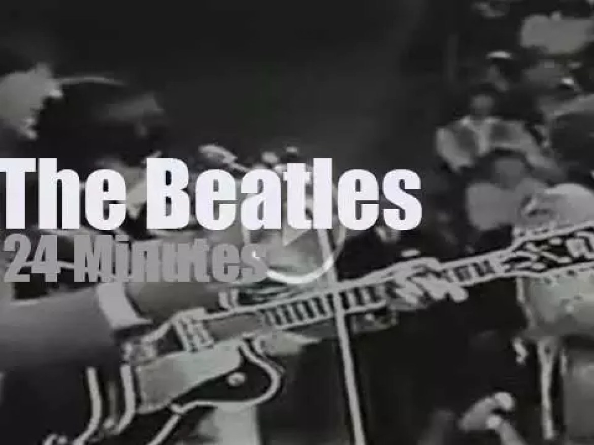 Dutch TV tapes The Beatles (1964)