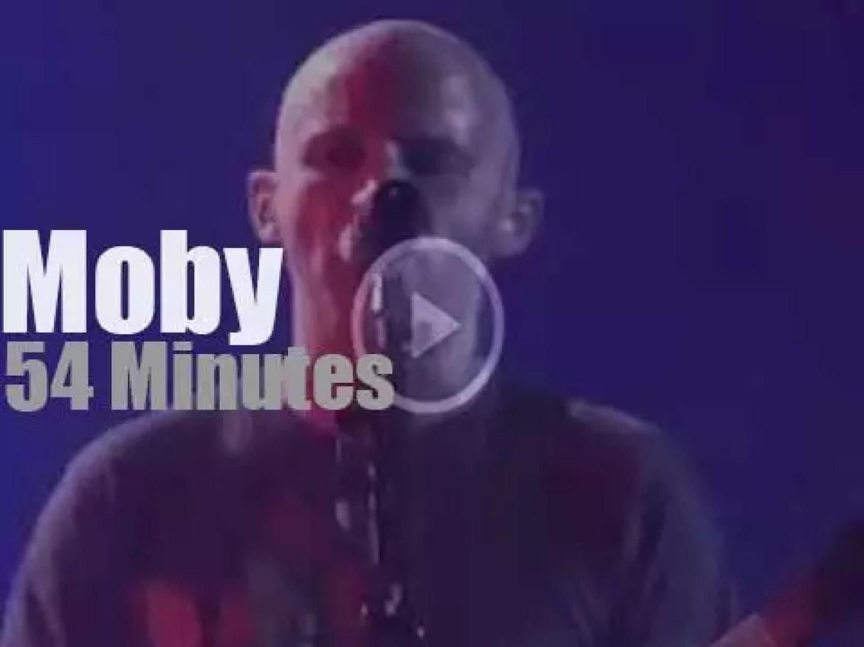 Moby rocks Belgium (2005)