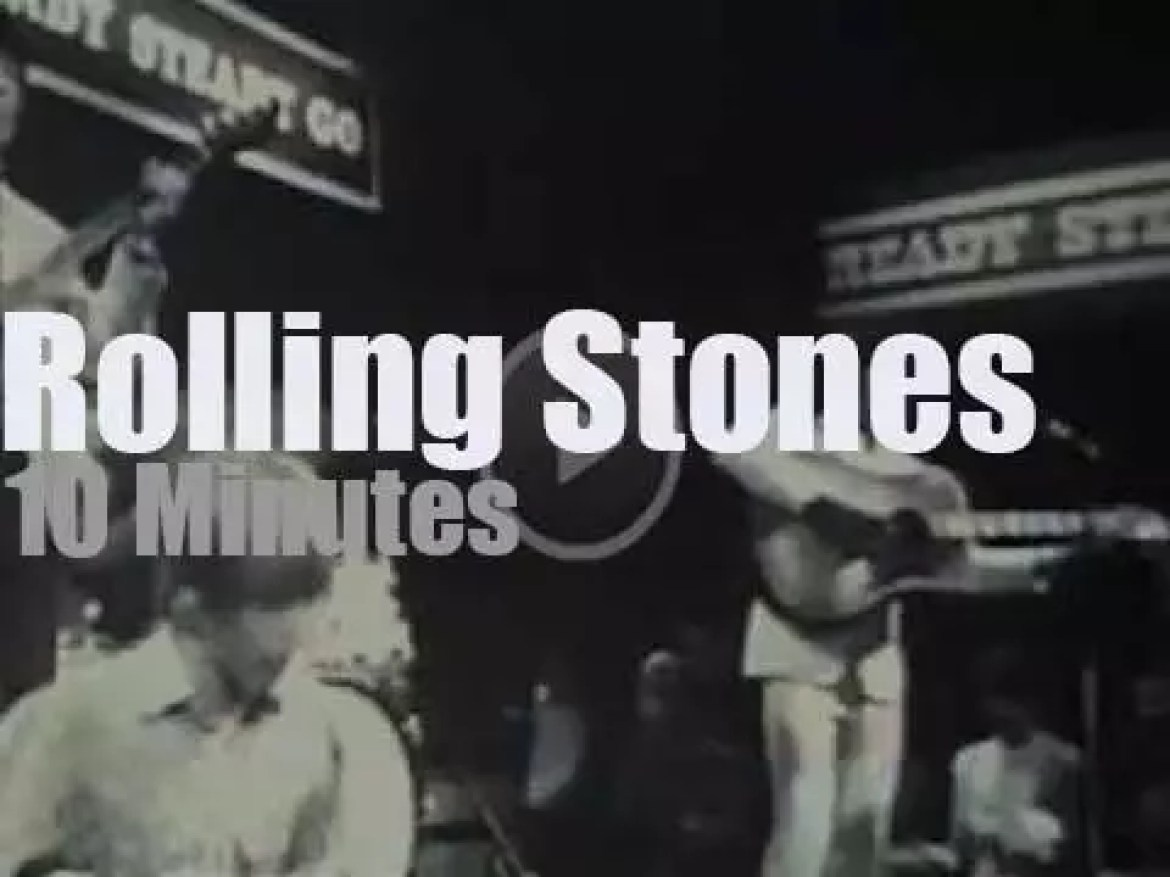 On English TV, The Rolling Stones at 'Ready Steady Go' (1966)