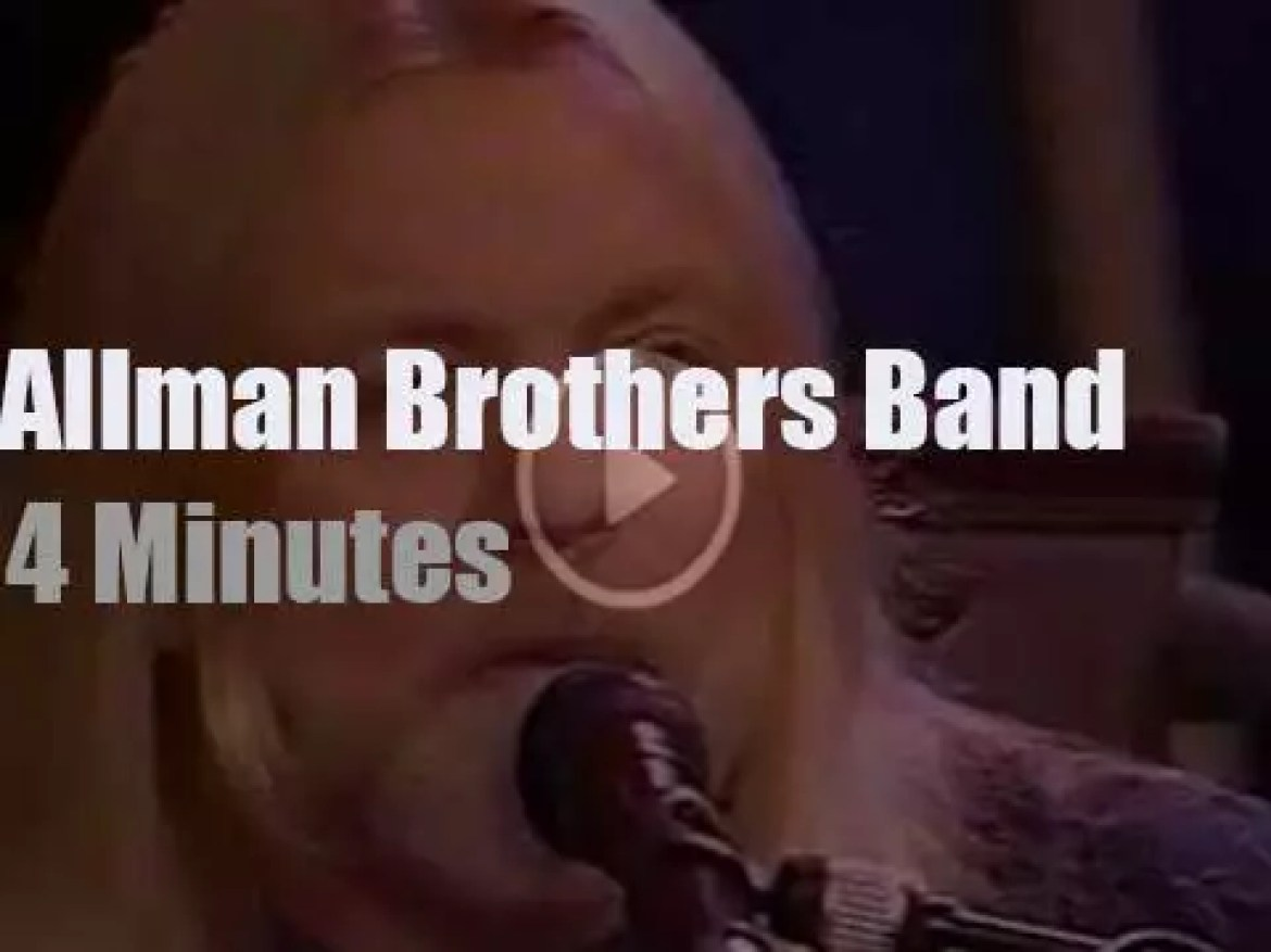 On TV today, Allman Brothers guest with Jay Leno (1994)