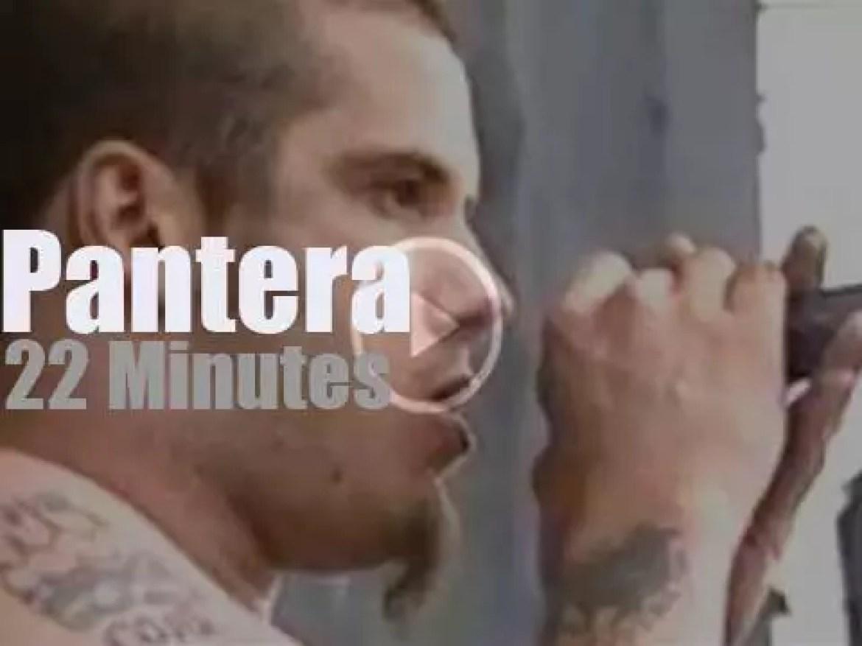 Pantera are 'Monsters' at Donington (1994)